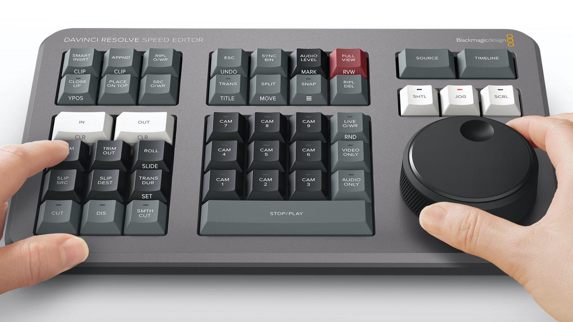 Speed Editor Dial Control